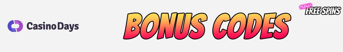 Casino Days-bonus-codes