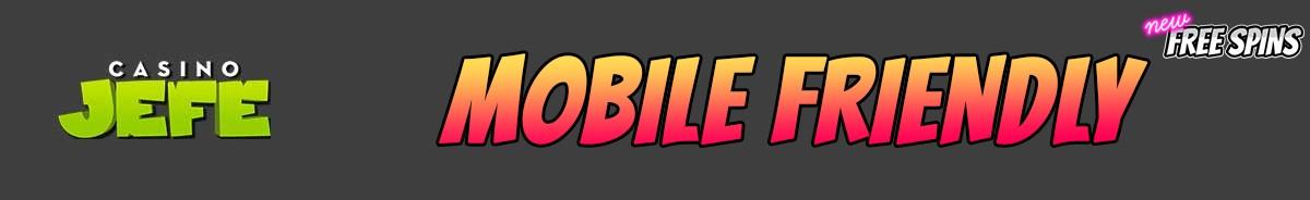 Casino Jefe-mobile-friendly