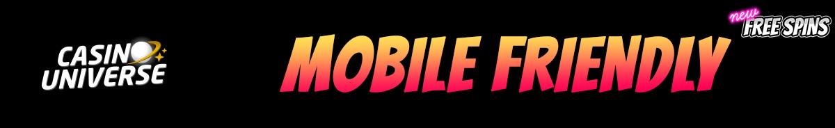Casino Universe-mobile-friendly
