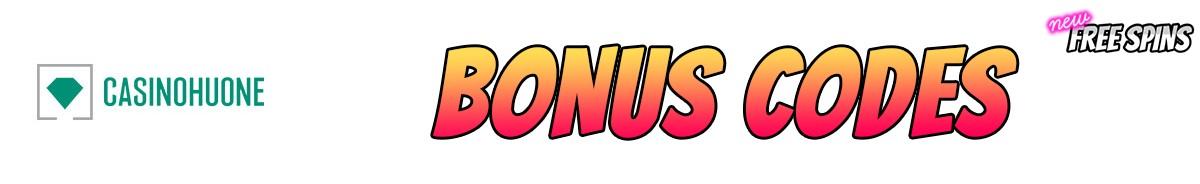 Casinohuone-bonus-codes