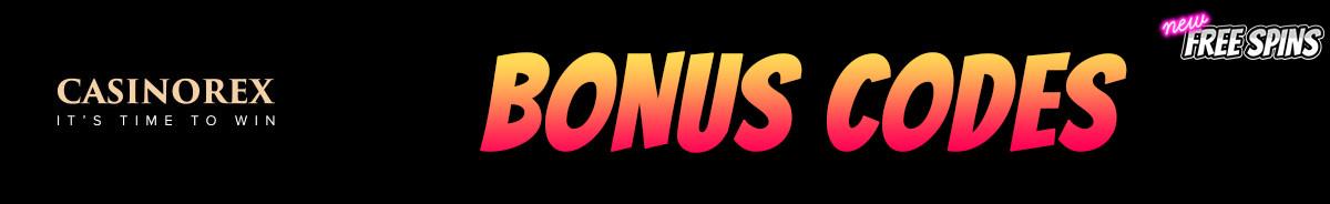 CasinoRex-bonus-codes