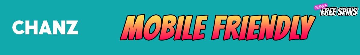 Chanz Casino-mobile-friendly