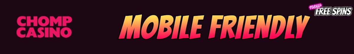 Chomp Casino-mobile-friendly