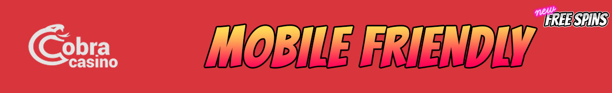 Cobra Casino-mobile-friendly