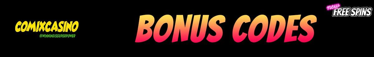 Comix Casino-bonus-codes