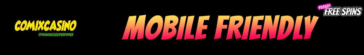 Comix Casino-mobile-friendly