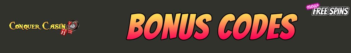 Conquer Casino-bonus-codes