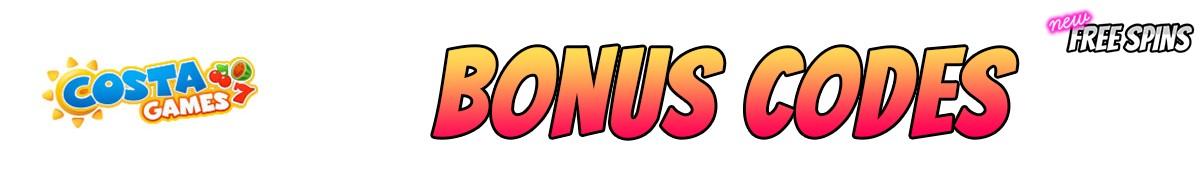 Costa Games-bonus-codes