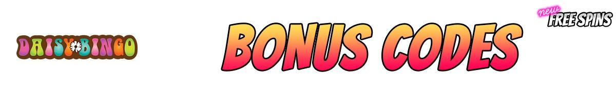 Daisy Bingo Casino-bonus-codes