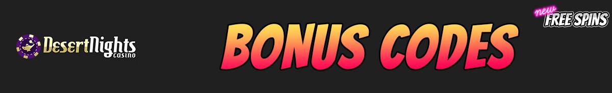 Desert Nights Casino-bonus-codes