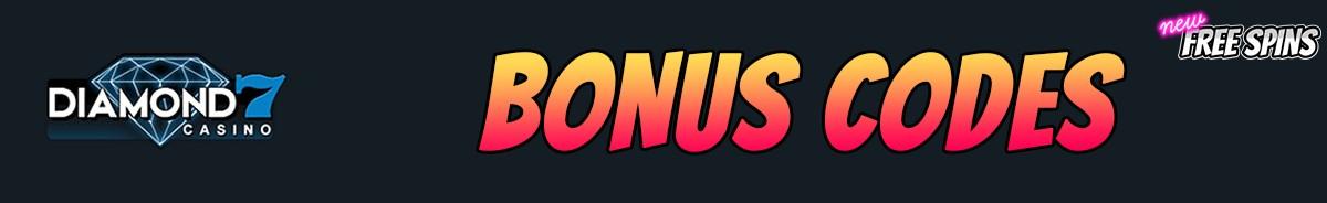 Diamond7 Casino-bonus-codes