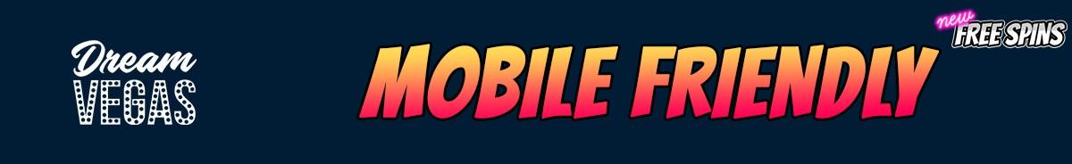 Dream Vegas Casino-mobile-friendly