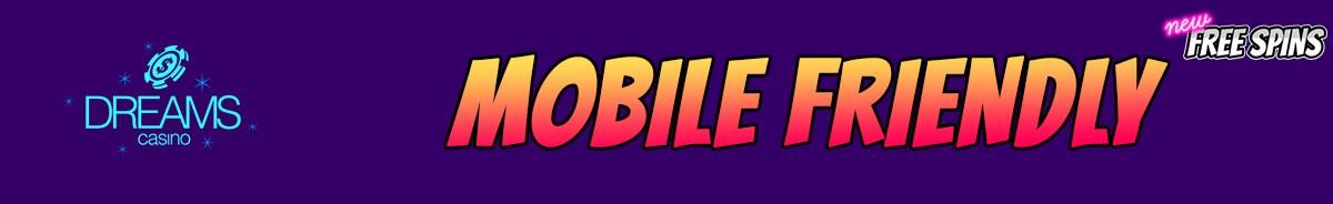 Dreams Casino-mobile-friendly
