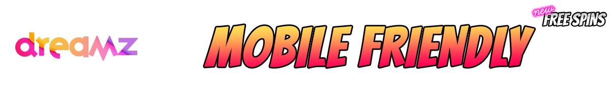 Dreamz Casino-mobile-friendly