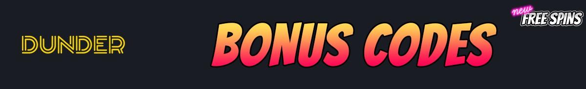 Dunder Casino-bonus-codes
