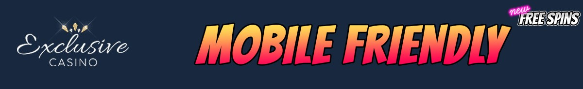 Exclusive Casino-mobile-friendly