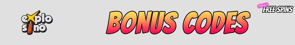 Explosino-bonus-codes