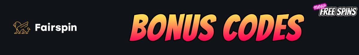 Fairspin-bonus-codes