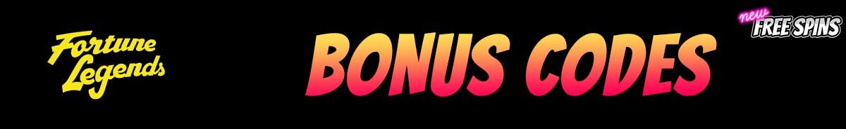 Fortune Legends-bonus-codes