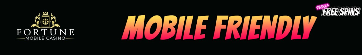 Fortune Mobile Casino-mobile-friendly