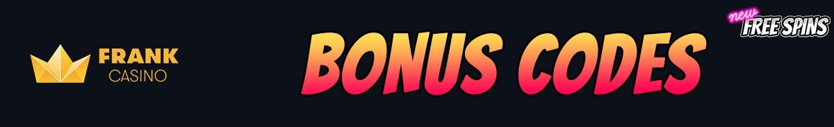Frank Casino-bonus-codes