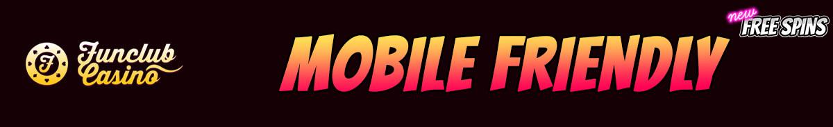 Funclub Casino-mobile-friendly