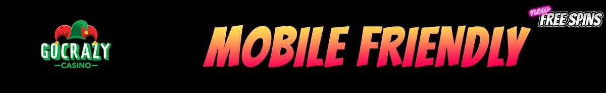 GoCrazy Casino-mobile-friendly