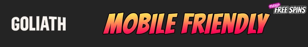 Goliath Casino-mobile-friendly