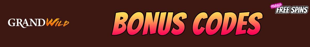 GrandWild Casino-bonus-codes