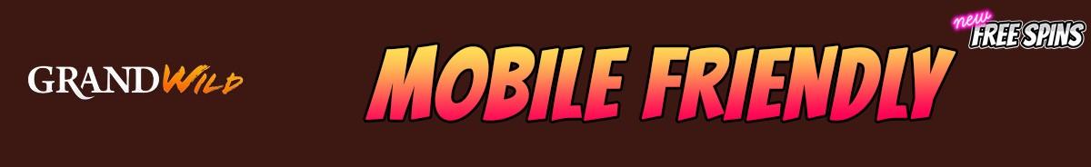 GrandWild Casino-mobile-friendly