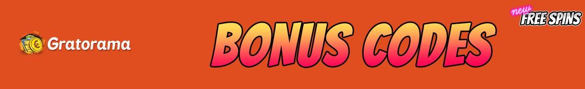 Gratorama Casino-bonus-codes