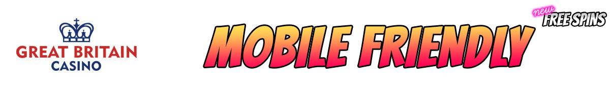Great Britain Casino-mobile-friendly