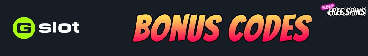 Gslot-bonus-codes
