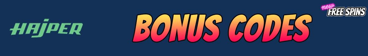 Hajper Casino-bonus-codes