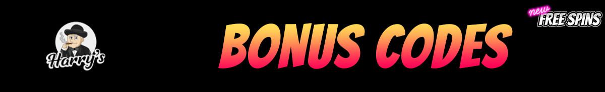 Harrys-bonus-codes