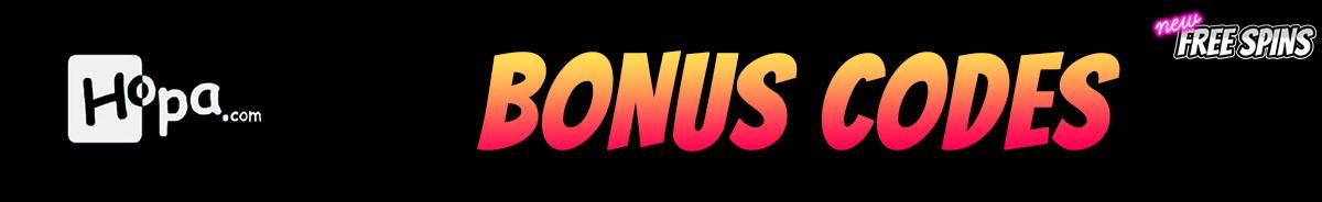 Hopa Casino-bonus-codes