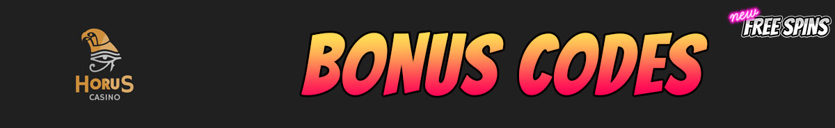 Horus Casino-bonus-codes
