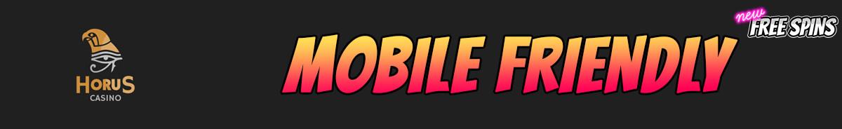 Horus Casino-mobile-friendly