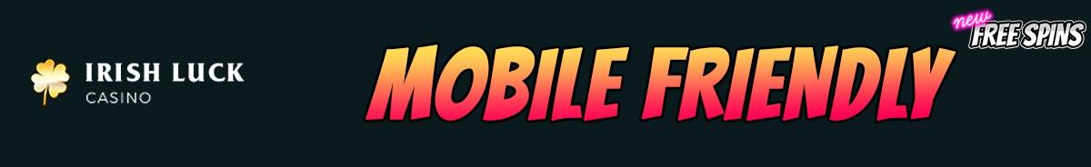 IrishLuck Casino-mobile-friendly