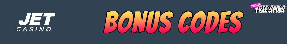 JET Casino-bonus-codes