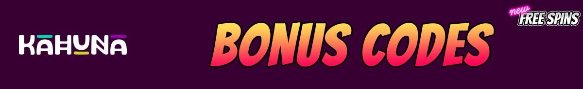 Kahuna-bonus-codes