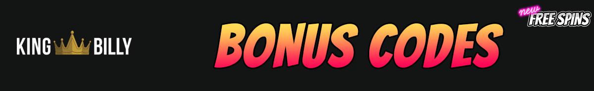 King Billy Casino-bonus-codes