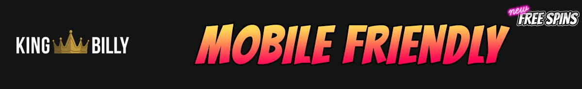King Billy Casino-mobile-friendly