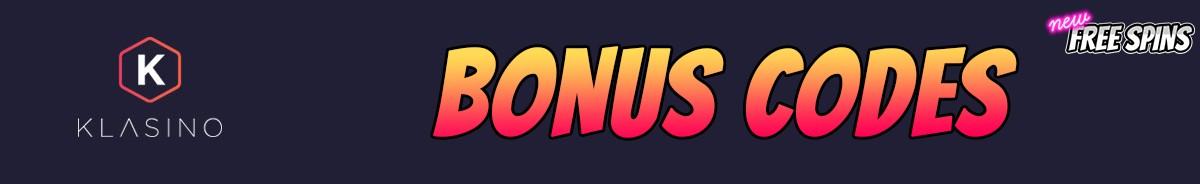 Klasino-bonus-codes