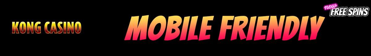 Kong Casino-mobile-friendly