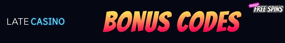 Late Casino-bonus-codes