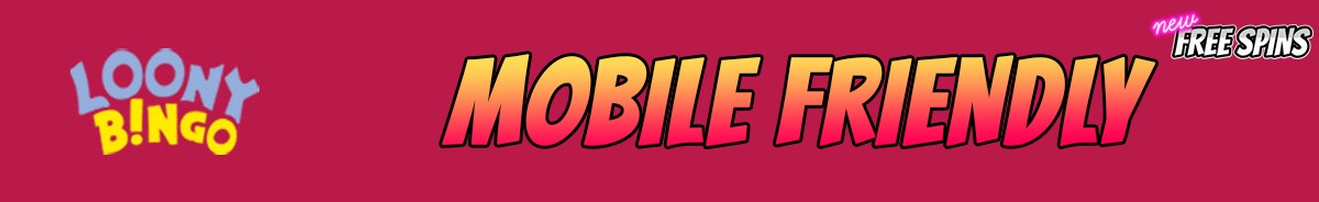 Loony Bingo-mobile-friendly