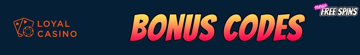 Loyal Casino-bonus-codes