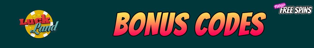 LuckLand-bonus-codes