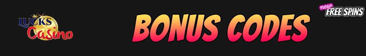 Lucks Casino-bonus-codes